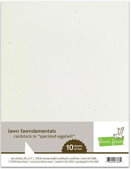 Lawn Fawn SPECKLED EGGSHELL Cardstock LF2086 zoom image