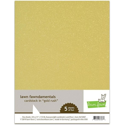 Lawn Fawn GOLD RUSH Cardstock LF2087 Preview Image