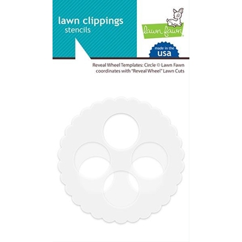 Lawn Fawn CIRCLE Reveal Wheel Templates LF2042
