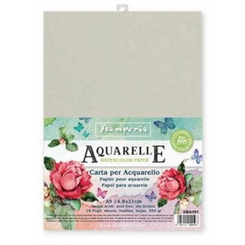 Stamperia AQUARELLE Watercolor Paper sba391