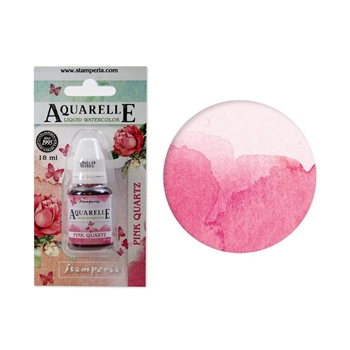 Stamperia PINK QUARTZ Aquarelle Watercolor kawcl09