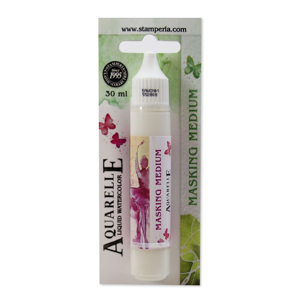 Stamperia MASKING MEDIUM Aquarelle 30ml kawcm01 zoom image