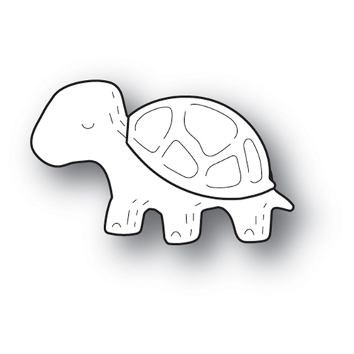 Poppy Stamps WHITTLE TURTLE Craft Die 2211 Preview Image