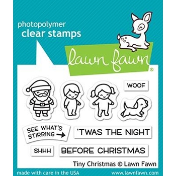Lawn Fawn TINY CHRISTMAS Clear Stamps LF2022