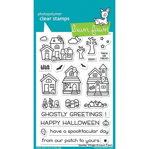 Lawn Fawn SPOOKY VILLAGE Clear Stamps LF2014 Preview Image