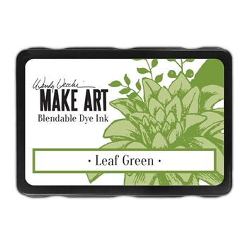Ranger Wendy Vecchi LEAF GREEN Make Art Dye Ink Pad wvd64336