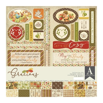 Authentique GRACIOUS 12 x 12 Collection Kit grc011