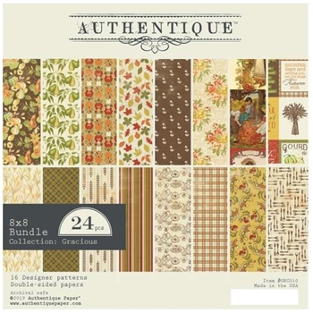 Authentique 8 x 8 GRACIOUS Paper Pad grc010