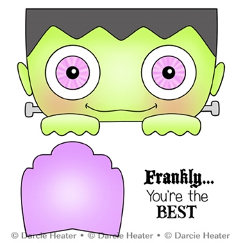 Darcie's FRANKLY THE BEST Clear Stamp Set pol441