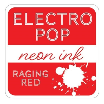 Gina K Designs RAGING RED ElectroPop Ink Cube 098