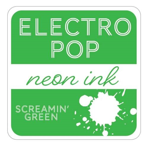 Gina K Designs SCREAMIN' GREEN ElectroPop Ink Cube 135 Preview Image