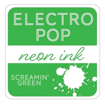 Gina K Designs SCREAMIN' GREEN ElectroPop Ink Cube 135