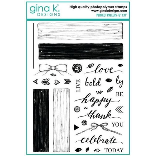 Gina K Designs PERFECT PALLETS Clear Stamps 893 Preview Image