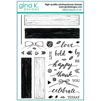 Gina K Designs PERFECT PALLETS Clear Stamps 893