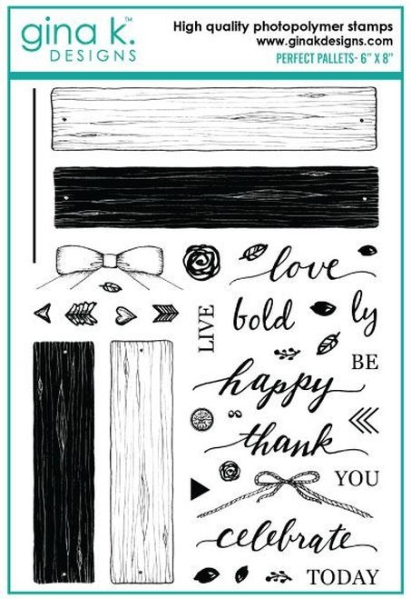 Gina K Designs PERFECT PALLETS Clear Stamps 893 zoom image