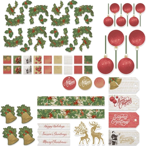 Couture Creations NAUGHTY OR NICE Ephemera co726903 Preview Image