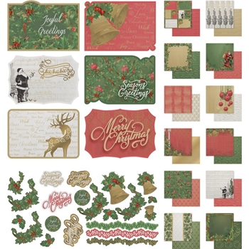 Couture Creations NAUGHTY OR NICE 12 x 12 Collection Kit co726889
