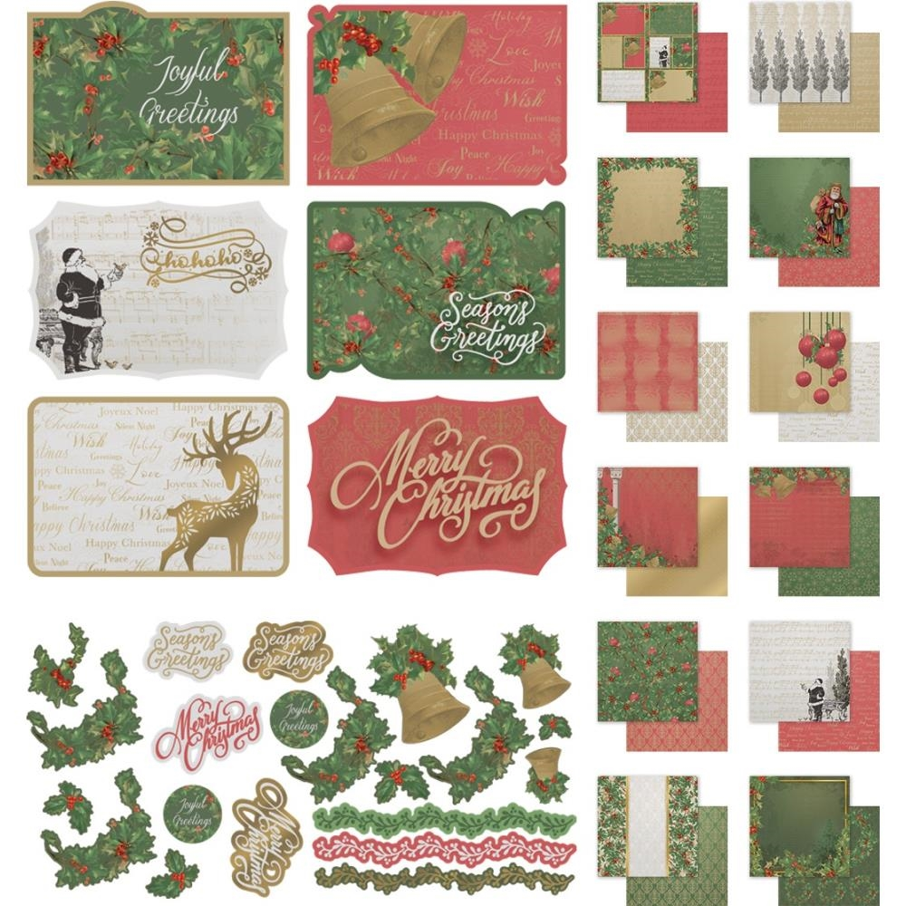 Couture Creations NAUGHTY OR NICE 12 x 12 Collection Kit co726889 zoom image