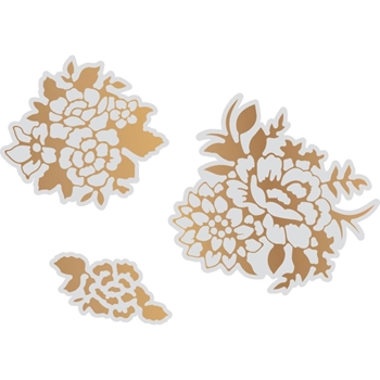 Couture Creations MARVELOUS FLORALS Cut, Foil And Emboss Die co726373