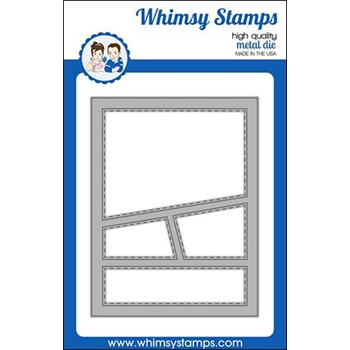 Whimsy Stamps WONKY WINDOW 2 Die WSD416