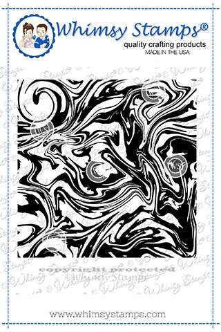 Whimsy Stamps MARBLE Background Cling Stamp DDB0029 Preview Image