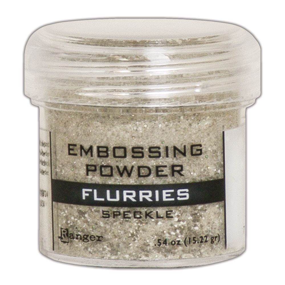 Ranger Embossing Powder FLURRIES Speckle epj68631 zoom image
