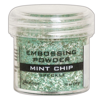 Ranger Embossing Powder MINT CHIP Speckle epj68679