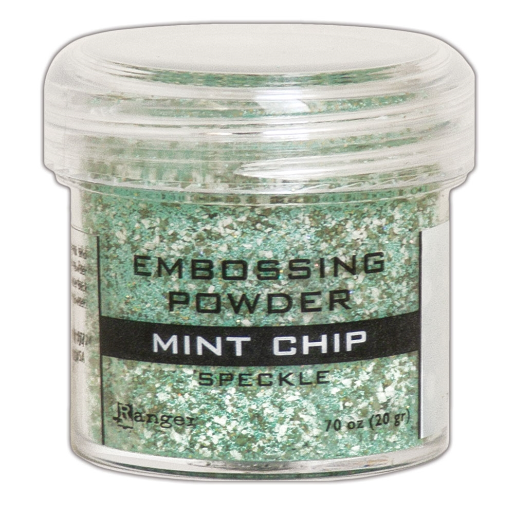 Ranger Embossing Powder MINT CHIP Speckle epj68679 zoom image
