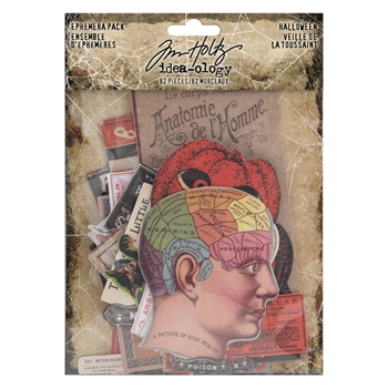 Tim Holtz Idea-ology Ephemera Pack HALLOWEEN th93963