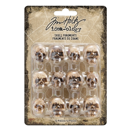 Tim Holtz Idea-ology SKULL FRAGMENTS th93968 Preview Image