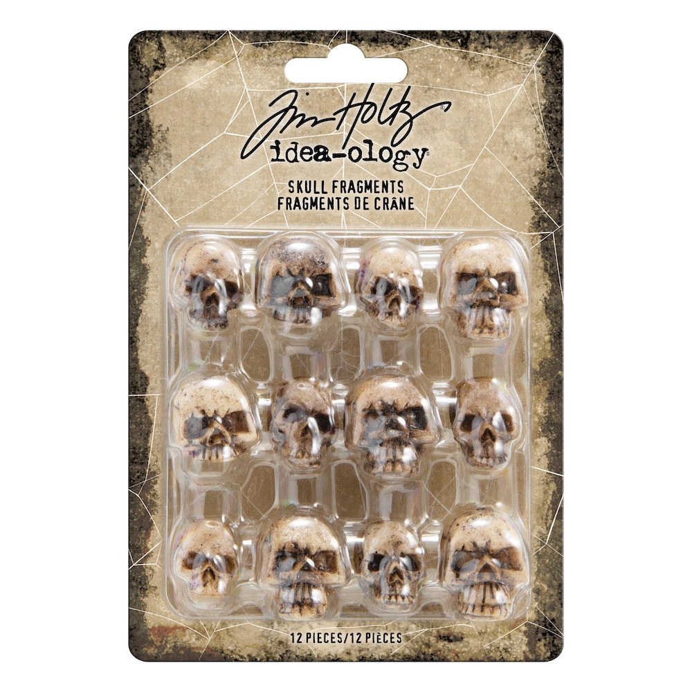 Tim Holtz Idea-ology SKULL FRAGMENTS th93968 zoom image