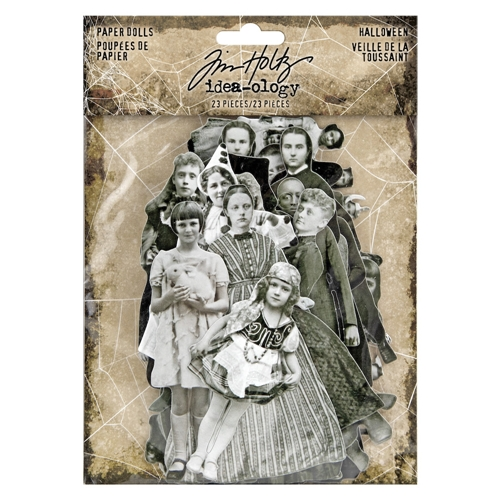 Tim Holtz Idea-ology HALLOWEEN PAPER DOLLS th93973 Preview Image