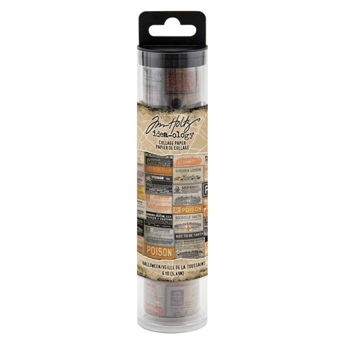 Tim Holtz Idea-ology HALLOWEEN Collage Paper th93977* Preview Image
