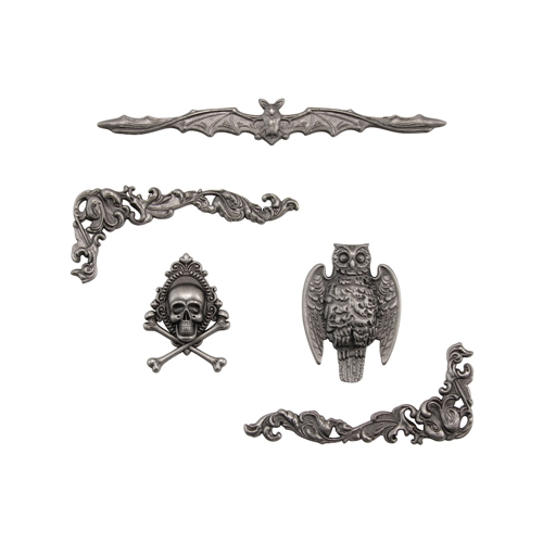 Tim Holtz Idea-ology HALLOWEEN ACCENTS Adornments th93979 Preview Image