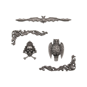 Tim Holtz Idea-ology HALLOWEEN ACCENTS Adornments th93979