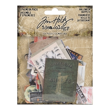 Tim Holtz Idea-ology Ephemera Pack HALLOWEEN SNIPPETS th93983