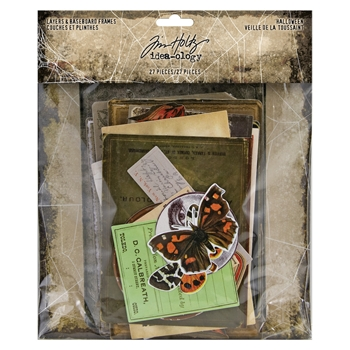 Tim Holtz Idea-ology HALLOWEEN Layers And Baseboard Frames th93986