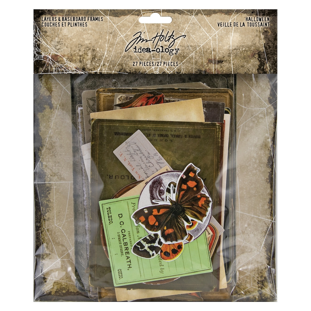 Tim Holtz Idea-ology HALLOWEEN Layers And Baseboard Frames th93986 zoom image