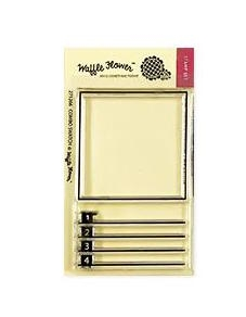 Waffle Flower COMBO SWATCH Clear Stamps 271266