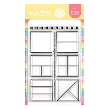Waffle Flower COLOR COMBOS Clear Stamps 271264