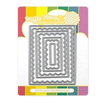 Waffle Flower ATC LAYERS Dies 310326