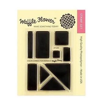 Waffle Flower COLOR COMBOS FOR INK PADS Clear Stamps 271265