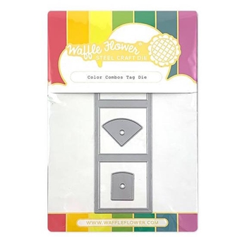Waffle Flower COLOR COMBOS TAG Dies 310324