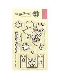 Waffle Flower MAKE WAVES Clear Stamps 271263
