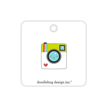 Doodlebug SAY CHEESE Collectible Enamel Pin 6427