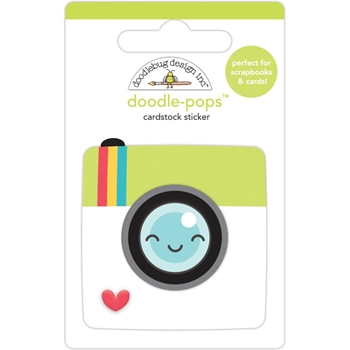 Doodlebug PICTURE PERFECT Doodle Pops 3D Sticker 6360