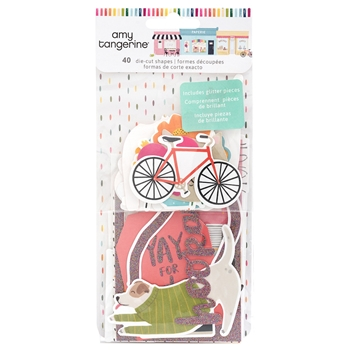 American Crafts Amy Tangerine EPHEMERA Slice of Life 354160