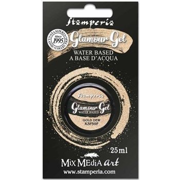 Stamperia GLAMOUR GEL GOLD DEW 25ml k3p59f