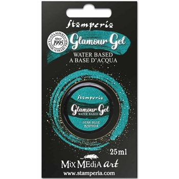 Stamperia GLAMOUR GEL STAR BLUE 25ml k3p59a