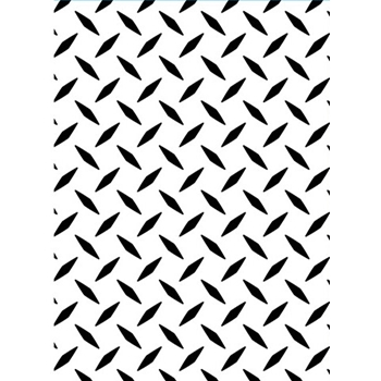 Darice DIAMOND PLATE Embossing Folder 1218101
